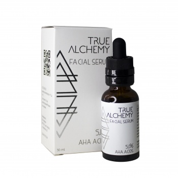 Сыворотка AHA Acids 5,1%, 30 мл, Levrana