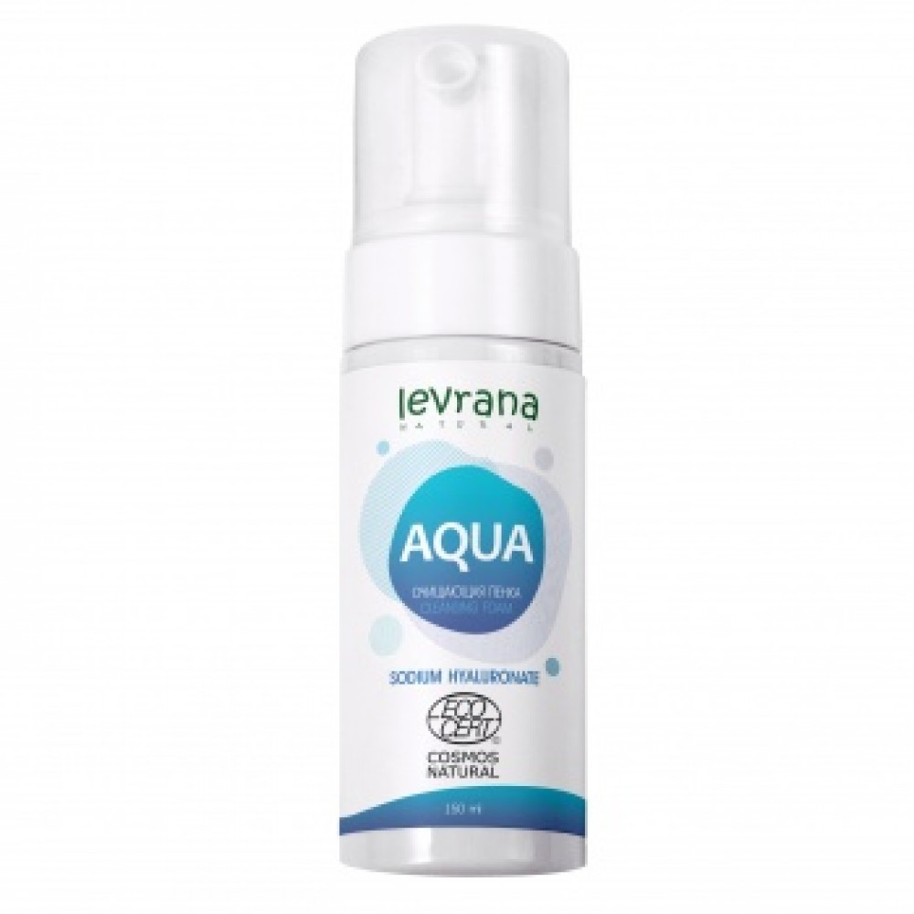 Очищающая пенка для умывания «AQUA» Levrana