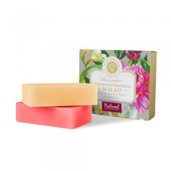 """Парфюмированное мыло Blooming bouquet """"Цветочный букет"""", 200 г, Дом природы"""