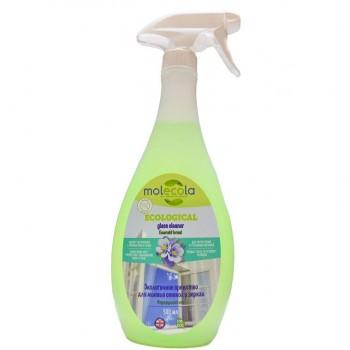"""Экологичное средство для мытья стекол и зеркал """"Изумительный лес"""", Molecola, 500 мл."""