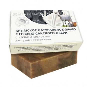 Мыло MED formula «На козьем молоке», 100г, Дом природы