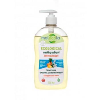 """Экологичное средство для мытья посуды """"Калифорнийский ананас"""" Molecola, 500 мл"""