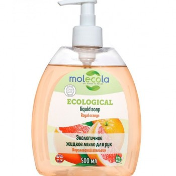 Крем-мыло жидкое для рук Апельсин, Molecola, 500 мл