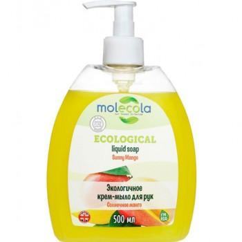 Крем-мыло жидкое для рук Солнечное манго, Molecola, 500 мл