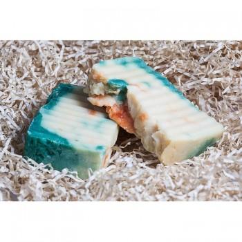 Мыло кастильское для лица и тела, Иланг и мандарин Jurassic Spa, 110 мл.