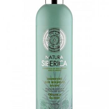 Шампунь для жирных волос Объем и баланс Natura Siberica, 400 мл.