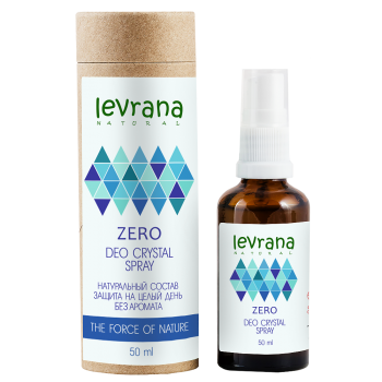 Дезодорант «ZERO» без аромата Levrana, 50 мл.
