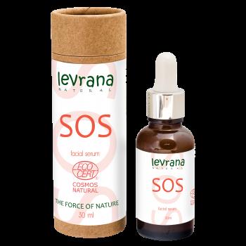 Сыворотка для лица «SOS» точечного действия для проблемной кожи Levrana, 30 мл.