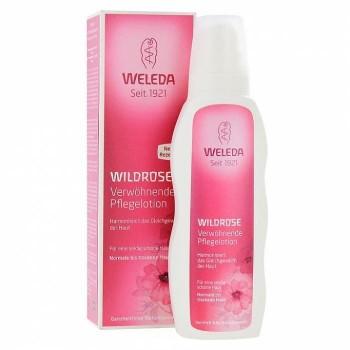 Розовое нежное молочко для тела Weleda, 200 мл.