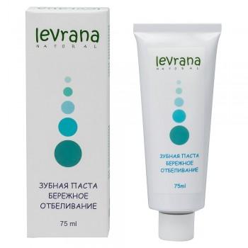 Зубная паста «Бережное отбеливание» Levrana, 75 мл.