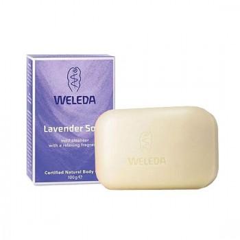 Лавандовое растительное мыло Weleda, 100 гр.