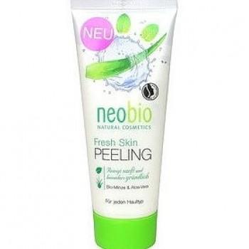 Средство для пилинга Fresh Skin с био-мятой и алоэ вера Neobio, 100 мл.