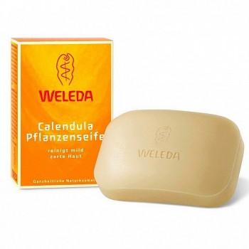 Растительное детское мыло с календулой Weleda, 100 гр.