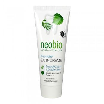 Зубная паста без фтора с био-гамамелисом и био-розмарином Neobio, 75 мл.
