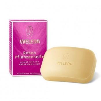 Розовое растительное мыло Weleda, 100 гр.