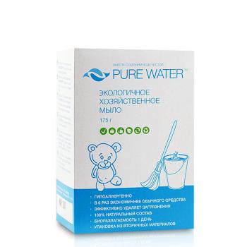 """Экологичное хозяйственное мыло """"PURE WATER"""" mi&ko, 175 гр."""