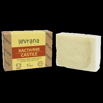 """Натуральное мыло ручной работы """"Кастилия"""" Levrana, 100 гр."""