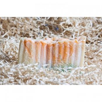 Мыло соляное Иланг и мандарин от черных точек (акне) Jurassic Spa, 110 мл.