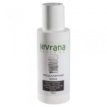 Чёрная мицеллярная вода для снятия макияжа (детокс) Levrana, 100 мл.