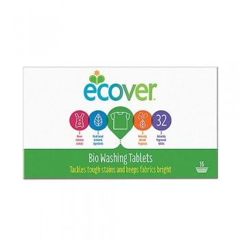 Экологические таблетки для стирки Ecover, Бельгия, 32 шт. (960 гр.)