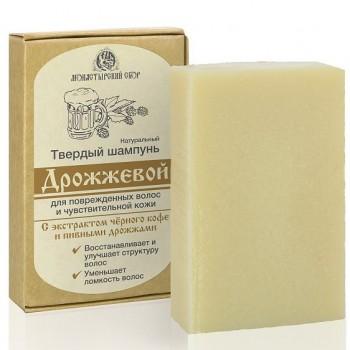 Твердый шампунь «Дрожжевой» для поврежденных волос и чувств. кожи Kleona, 80 гр.
