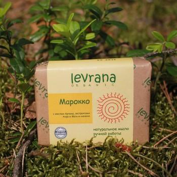Натуральное мыло ручной работы Марокко Levrana, 100 гр.