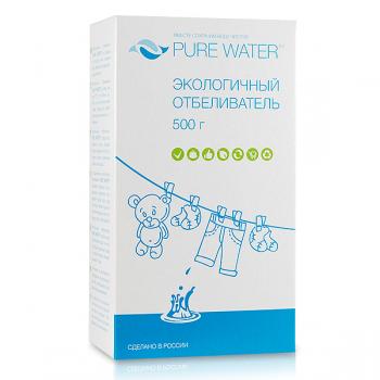 """Экологичный отбеливатель """"PURE WATER"""" mi&ko, 500 гр."""