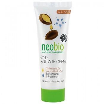 Разглаживающий крем для лица 24 часа Anti Age Cream, Neobio, 50 мл.