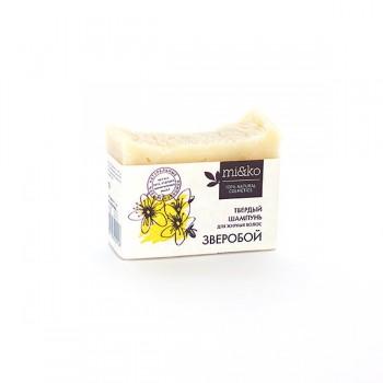 Шампунь твердый для жирных волос Зверобой mi&ko, 75 гр.