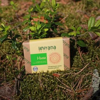Натуральное мыло ручной работы с маслом Ним Levrana, 100 гр.