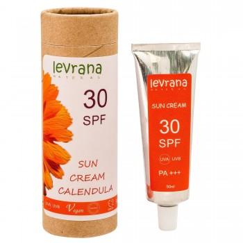 Солнцезащитный крем для тела Календула SPF30 Levrana, 50 мл.