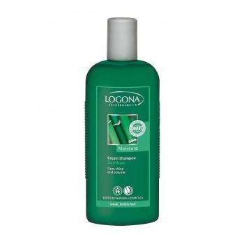 Крем-шампунь с Экстрактом Бамбука для ослабленных и ломких волос LOGONA, 250 мл.
