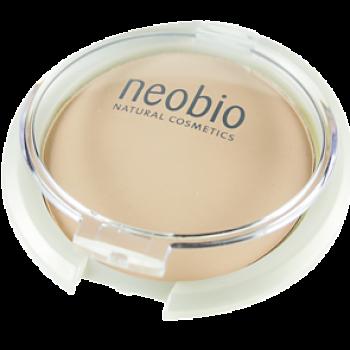 Компактная пудра 01 светло-бежевая Neobio, 10 гр.