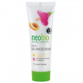 "Крем ""Баланс 24 часа"" для всех типов кожи Neobio, 50 мл."