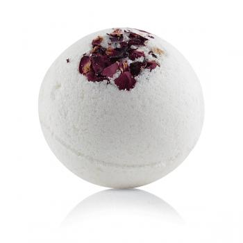 Бурлящий шарик для ванн Роза mi&ko, 185 гр.