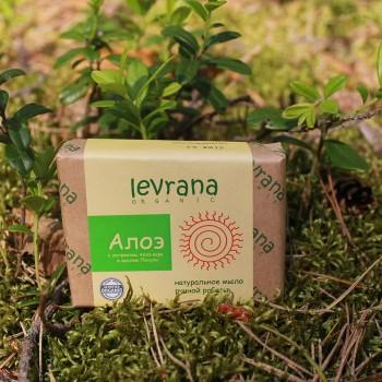 Натуральное мыло ручной работы Алоэ Levrana, 100 гр.