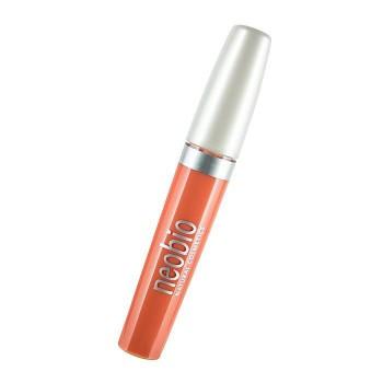 Блеск для губ 02 светло-персиковый Neobio, 8 мл.