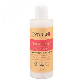 Натуральный шампунь для волос Дикая Роза, без сульфатов, без SLS Levrana, 250 мл
