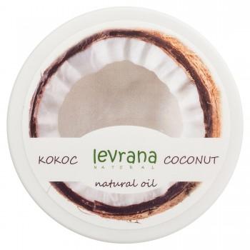 Кокосовое натуральное рафинированное масло Levrana, 150 мл.