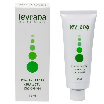 Зубная паста «Свежесть дыхания» Levrana, 75 мл.
