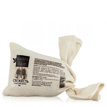 Саше Свежесть с цеолитом, устраняющее запах mi&ko, 250 гр.