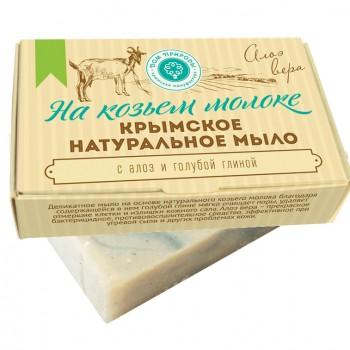 """Крымское натуральное мыло """"АЛОЭ ВЕРА"""", 100г, Дом природы"""