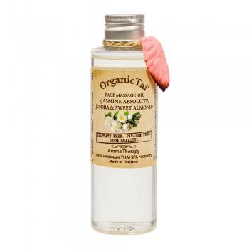 Массажное масло для лица «Жасмин, жожоба и сладкий миндаль» 120 мл, OrganicTai