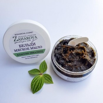 Мягкое мыло-бельди КЛАССИК ЭВКАЛИПТ, 180 гр Zaharova