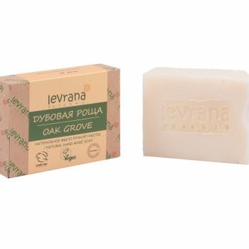 """""""Дубовая роща"""", натуральное мыло ручной работы, 100 гр, Levrana"""