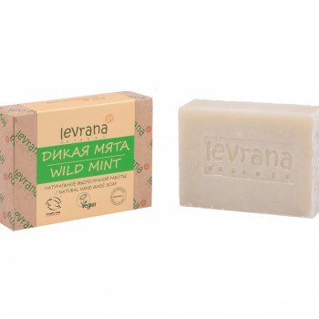 """""""Дикая мята"""", натуральное мыло ручной работы, 100 гр, Levrana"""