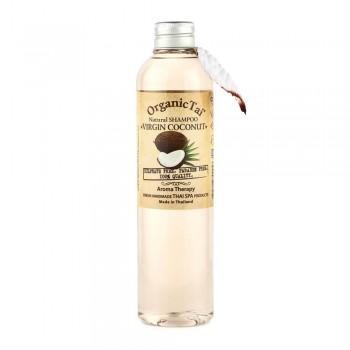 Натуральный шампунь для волос «Вирджин кокос», 260 мл, OrganicTai