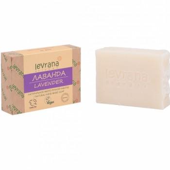 """""""Лаванда"""", натуральное мыло ручной работы, 100 гр, Levrana"""