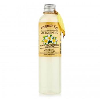 Натуральный гель для душа «Франжипани», OrganicTai