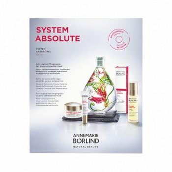 """Набор пробников для зрелой и требовательной кожи """"System Absolute"""" Annemarie Borlind, 4 шт."""